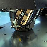 Filettatura tramite utensile a controllo numerico Trupunch 3000