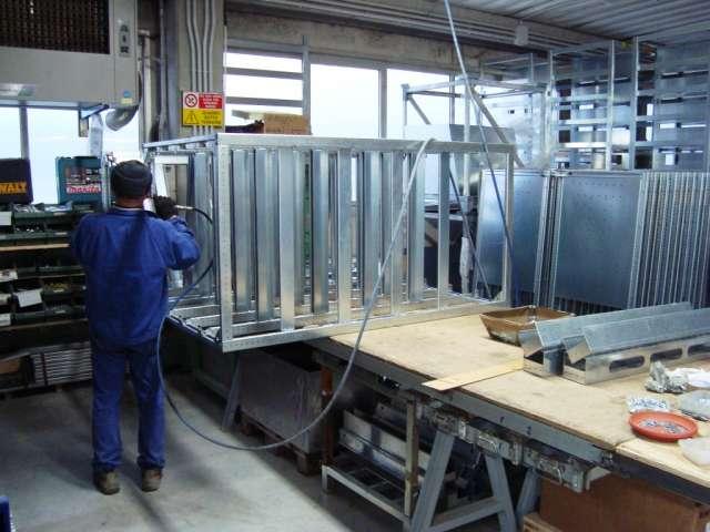 Montaggio Assemblaggio carpenterie metalliche